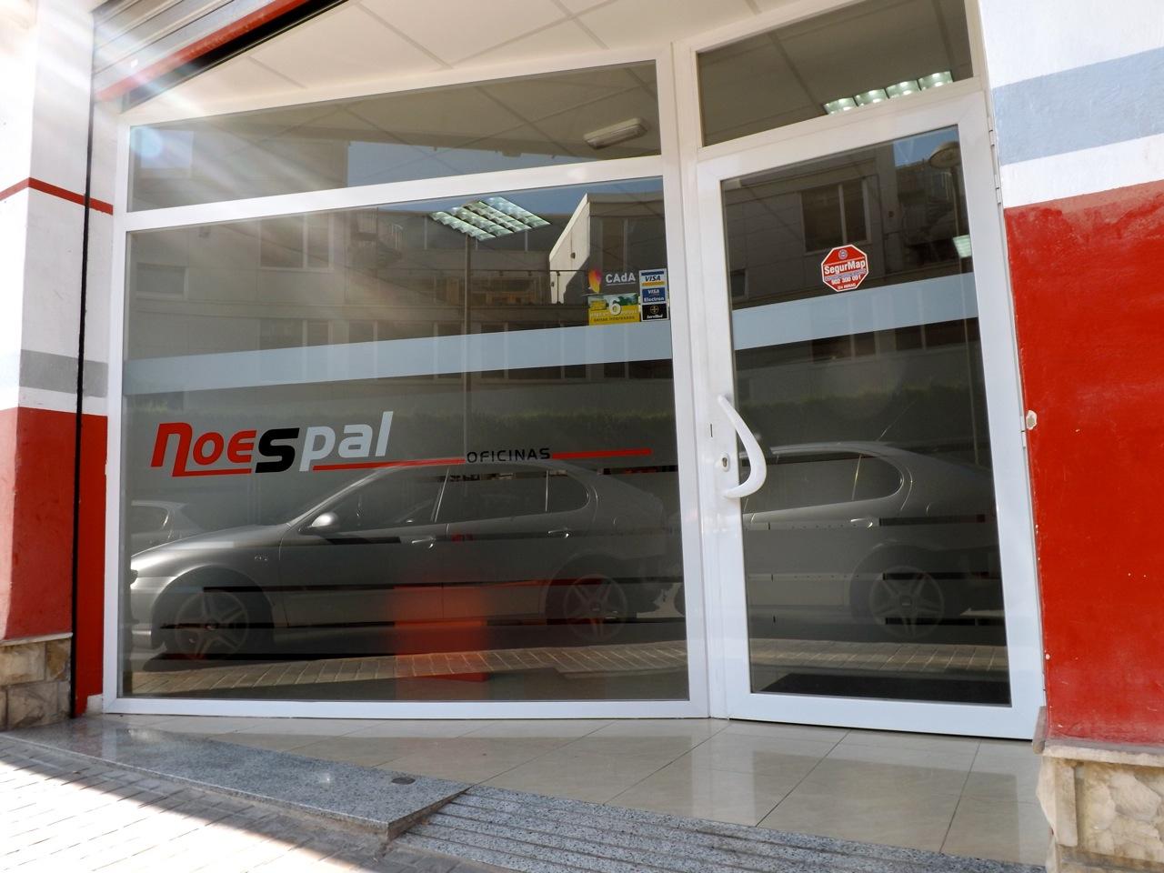 La empresa noespal for Exterior oficinas